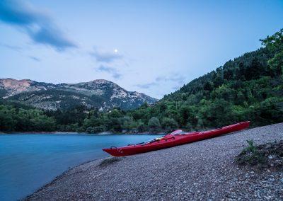 Canoeing with Orias